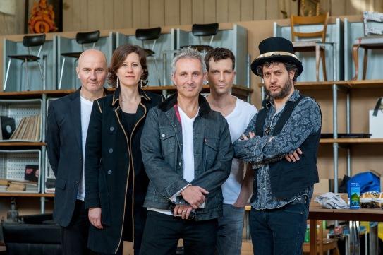 Silverlings Peter Wagner, Sandra Merk, Pascal Biedermann, Andreas Wettstein, Reto Burell